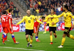 Europos čempionato atrankos starte – belgų, olandų ir kroatų pergalės