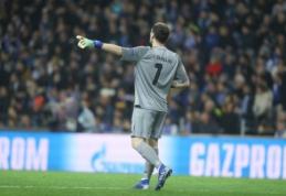 """I. Casillasas dar negalvoja apie karjerą pabaigą: """"Porto"""" pratęsė sutartį su vartininku"""