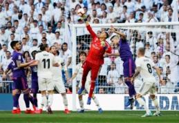 """Z. Zidane'as: """"Pasitikėsiu tiek Keyloru, tiek Courtois"""""""