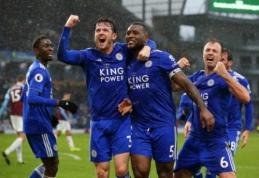 """""""Premier"""" lygoje – dramatiškos """"West Ham"""" ir """"Leicester"""" pergalės"""