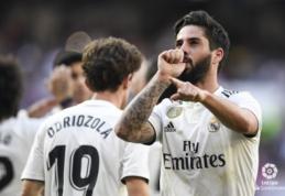 """Z. Zidane'o sugrįžimas pažymėtas pergale prieš """"Celtą"""", """"Atletico"""" suklupo Bilbao tvirtovėje"""