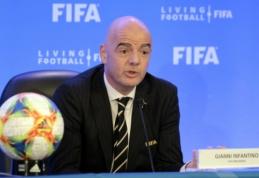 FIFA patvirtino naują pasaulio klubų čempionato formatą ir užsimojo plėsti planetos pirmenybes Katare