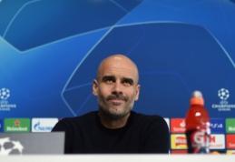 """P. Guardiola apie laukiantį ČL ketvirtfinalį su """"Tottenham"""": """"Komandų šansai 50 prieš 50"""""""