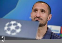 """G. Chiellini: """"Atletico"""" yra labiausiai į mus panaši Europos komanda"""""""