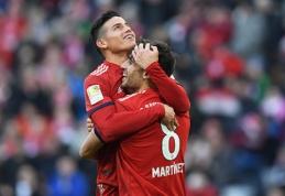 """Bayern"" išpirks J.Rodriguezo kontraktą"