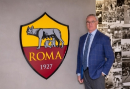 """Oficialu: C. Ranieri stoja prie """"Roma"""" komandos vairo"""