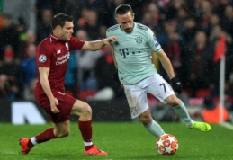 "F. Ribery: ""Nebijome ""Liverpool"" ekipos"""