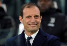 "M. Allegri po sezono gali stoti prie ""Inter"" vairo"