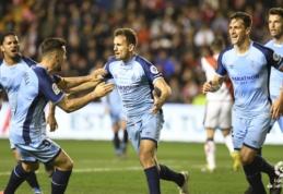 """""""Girona"""" įveikė penktą kartą iš eilės suklupusį """"Rayo Vallecano"""""""