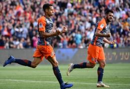 """Nusiritusi PSG pralaimėjo ir """"Montpellier"""" klubui"""