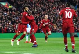 """""""Liverpool"""" namuose nepaliko vilčių """"Huddersfield"""" ekipai"""