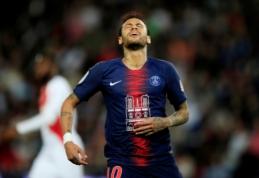 Į UEFA strėles paleidęs Neymaras sulaukė trijų rungtynių diskvalifikacijos