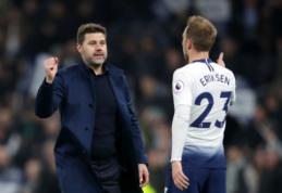 """M. Pochettino tiki, kad """"Tottenham"""" klubui pavyks išlaikyti C. Erikseną"""