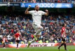 """""""Real"""" susitvarkė su """"Athletic"""", o K. Benzema pasižymėjo """"hat-tricku"""""""