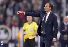 """""""Juventus"""" nesiruošia atsisveikinti su M. Allegri"""