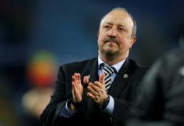 """R. Benitezas: """"Privalome turėti komandą, kuri būtų konkurencinga"""""""