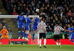 """""""Newcastle"""" nutraukė """"Leicester"""" pergalių seriją """"Premier"""" lygoje"""