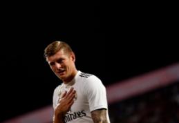 """T. Kroosas paneigė gandus apie norą palikti Madrido """"Real"""""""