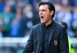 """V. Montella grįžta į """"Fiorentina"""" trenerio kėdę"""