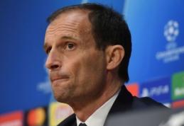 """M. Allegri prieš akistatą su """"Ajax"""": """"Laukia atviros rungtynės"""""""