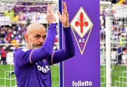 """Spauda: S.Pioli pasitraukė iš """"Fiorentina"""" trenerio posto"""