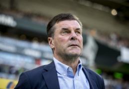 """Oficialu: """"Monchengladbach"""" vasarą atsisveikins su vyriausiuoju treneriu"""