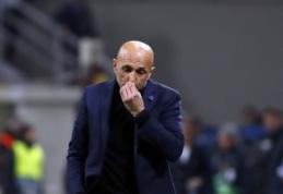 """L. Spalletti pratrūko: """"Icardi turi pakeisti savo elgesį, jeigu nori grįžti į aikštę"""""""