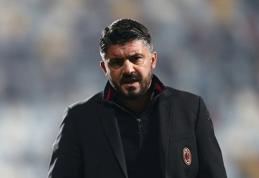 """Oficialu: G.Gattuso pasitraukė iš """"Milan"""" trenerio posto"""