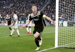 """Šaltiniai: M. de Ligtas pasirinko """"Man Utd"""" klubą"""