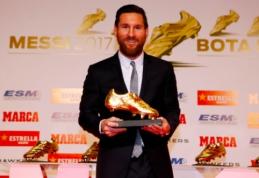 """L. Messi rankose – šeštasis """"Auksinis batelis"""""""