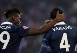 """R. Varane: """"Pogba yra laukiamas Madride"""""""