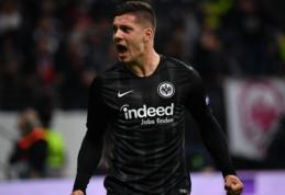 """Įstrigo Madrido """"Real"""" ir """"Eintracht"""" derybos dėl L. Jovičiaus"""