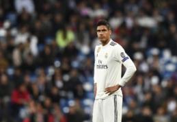 """R. Varane: """"Rungtyniausiu Madride ir kitą sezoną"""""""