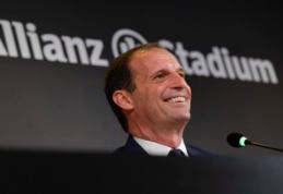 """Su """"Juventus"""" išsiskiriantis M. Allegri apie poilsį negalvoja"""