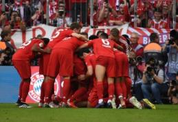 """Saldus """"Bayern"""" triumfas Vokietijos pirmenybėse pažymėtas Ribery ir Robbeno įvarčiais"""