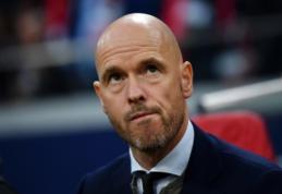 """Finalo bilietą savo kišenėje jau laikęs E. ten Hagas: """"Futbolas yra žiaurus"""""""