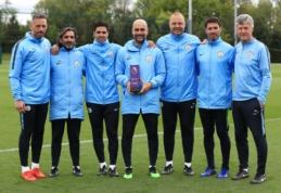 """Balandžio mėnesio """"Premier"""" lygos geriausieji - P. Guardiola ir J. Vardy"""