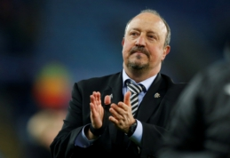 """R. Benitezas: """"Džiaugiuosi, kad išlikome lygoje, bet norėčiau kautis dėl kažko daugiau"""""""