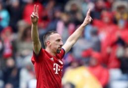 "Oficialu: F. Ribery po sezono atsisveikins su ""Bayern"""