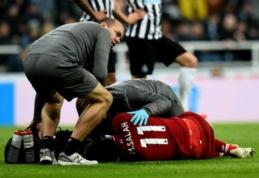"""M. Salah trauma nėra rimta, tačiau sezoną """"Liverpool"""" užbaigs be R. Firmino"""