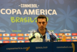 """Argentinos strategas: """"Messi vis dar yra svarbiausias rinktinėje"""""""