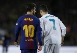 Geriausiai apmokami sportininkai: L. Messi už nugaros paliko C. Ronaldo ir F. Mayweatherį
