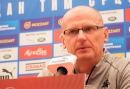 """V. Urbonas prieš mūšį su Serbija: """"Teks padirbėti gynyboje"""""""