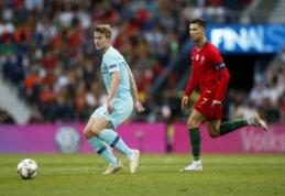 """M. de Ligtas: """"Ronaldo paprašė atvykti į """"Juventus"""""""