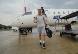 Lietuvos rinktinės futbolininkai pasiekė Serbiją