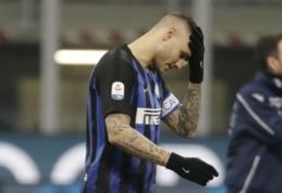 """""""Inter"""" strategu tapęs A. Conte nurodė parduoti M. Icardi"""