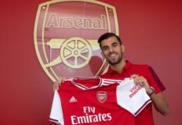 """Oficialu: D. Ceballosas nuomos pagrindais keliasi į """"Arsenal"""""""