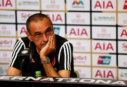 M.Sarri: P.Dybala gali žaisti ir kitoje pozicijoje