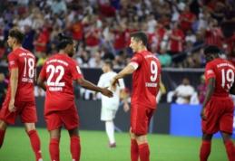 """""""Bayern"""" draugiškose rungtynėse pranoko """"Real"""", """"Arsenal"""" susitvarkė su """"Fiorentina"""""""