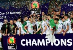 Kuriozišką įvartį pelniusi Alžyro rinktinė triumfavo Afrikos tautų taurės finale